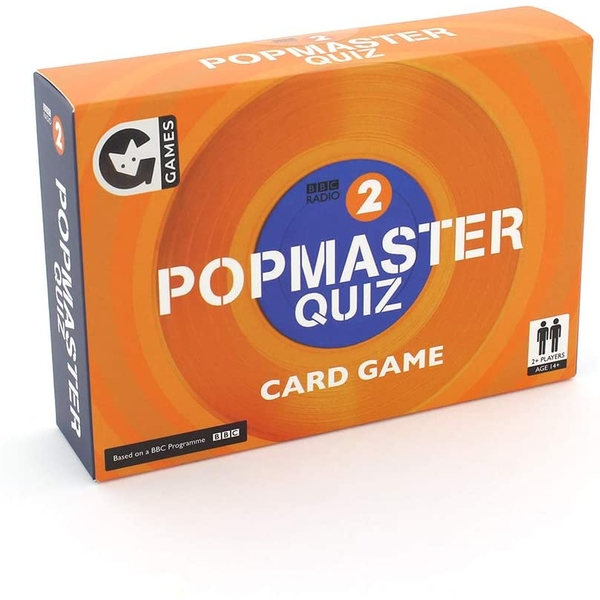 PopMaster BBC Radio 2 Quiz Card Game