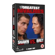 WWE's Greatest Rivalries: Shawn Michaels Vs Brett Hart DVD