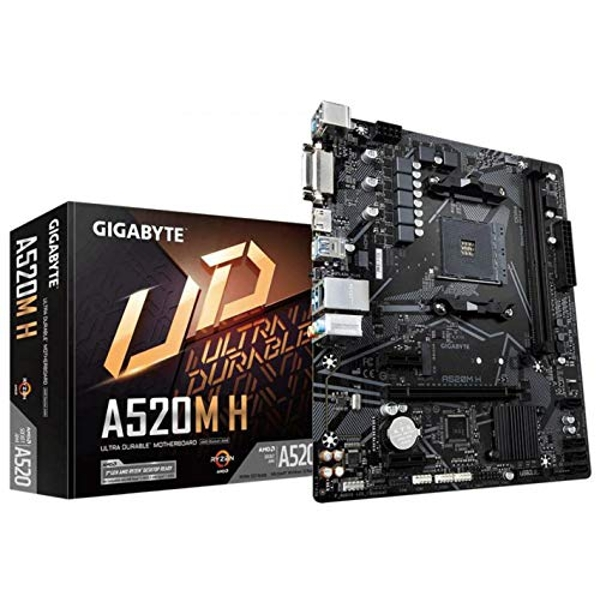 Gigabyte A520M H mATX Motherboard for AMD AM4 CPUs