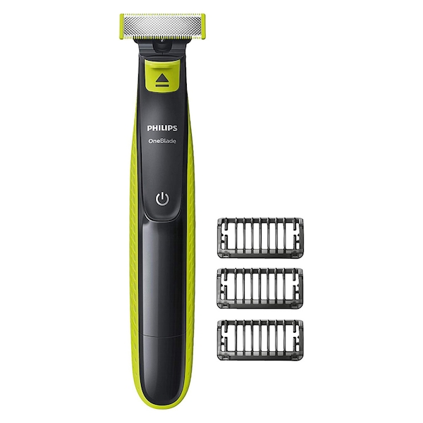 Philips QP2520/25 OneBlade Shaver with 3 Stubble Combs UK 2 Pin