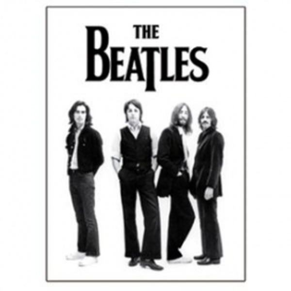 The Beatles Group Shot Magnet
