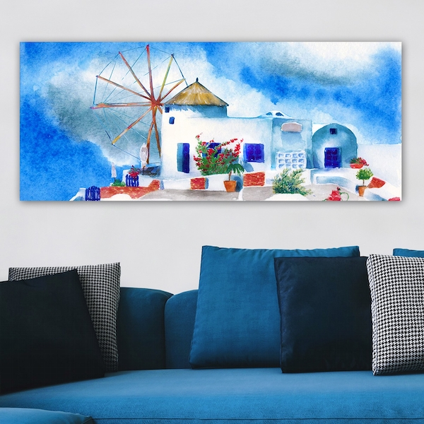YTY1031096017848_50120 Multicolor Decorative Canvas Painting