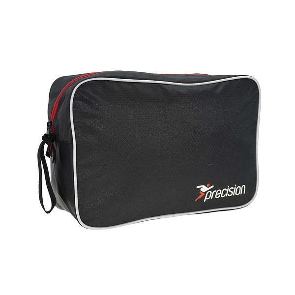 Precision Pro HX Goalkeeping Glove Bag - Charcoal Black/Red