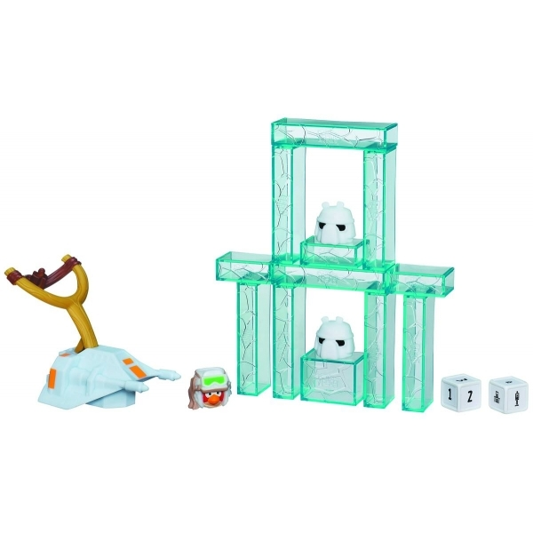 Star Wars Angry Birds HOTH Jenga Battle Pack
