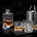 Set of 4 Tumbler Set & Whiskey Decanter | M&W - Image 4