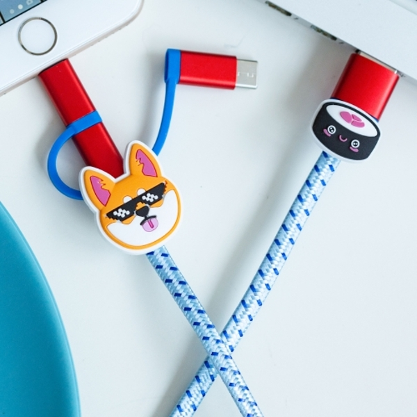 Thumbs Up! Shiba Inu 3-in-1 Cable