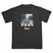 The Beatles Abbey Road Black T-Shirt Medium