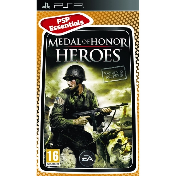 Medal of Honor Heroes Game (Essentials) PSP