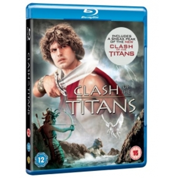 Clash of The Titans Blu Ray