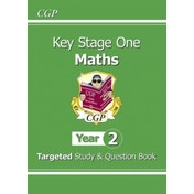 KS1 Maths Targeted Study & Question Book - Year 2 by CGP Books (Paperback, 2014)