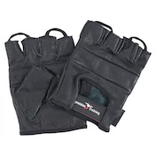 Precision Full Leather Weightlifting Gloves Medium