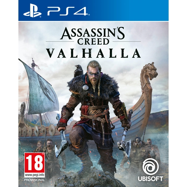 Assassin's Creed Valhalla PS4 Game (Pre-Order Bonus Mission DLC)