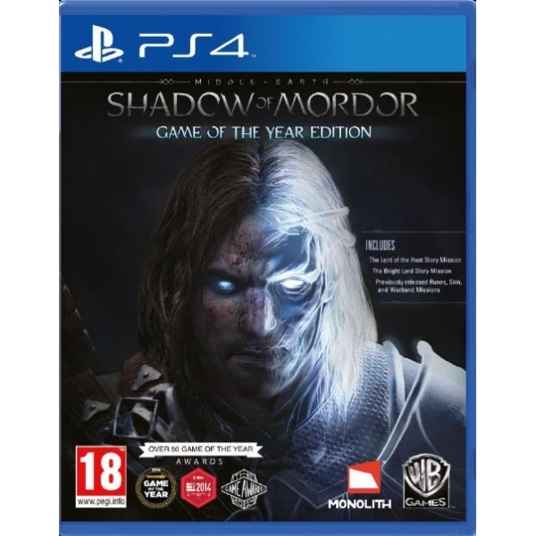 shadow of war 4k cinematic pack ps4