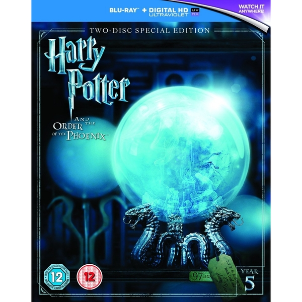 Harry Potter and the Order of the Phoenix (2016 Edition) Blu-Ray