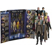 Ex-Display Doctor Who The Eleven Doctors Figure Set Used - Like New