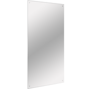 Frameless Mirror Includes All Fixings | M&W 450x600mm