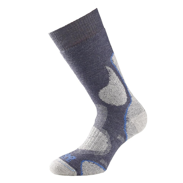 1000 Mile 3 Season Walking Socks Slate - XLarge