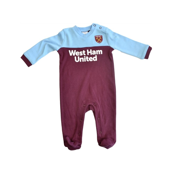 West Ham Sleep Suit 2019 20 3-6 Months