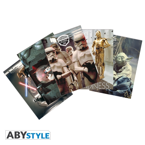 Star Wars - Movie Scenes (14.8 x 10.5cm) Postcards