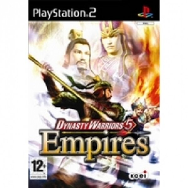 Dynasty Warriors 5 Empires Game PS2