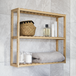 3 Tier Bamboo Shelves | M&W - Natural - Image 2
