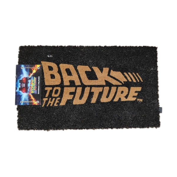 Back to the Future Doormat Logo 43 x 72 cm