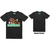 Wu-Tang Clan - Sesame Street Men's XX-Large T-Shirt - Black