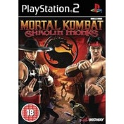 Mortal Kombat Shaolin Monks Game PS2