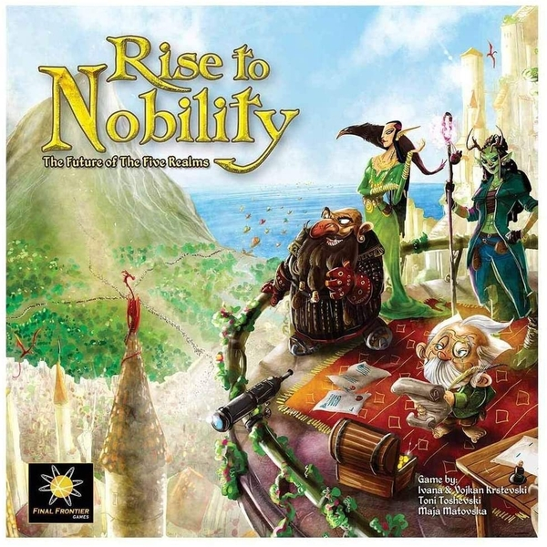 Rise To Nobility Monster Smash Expansion Game