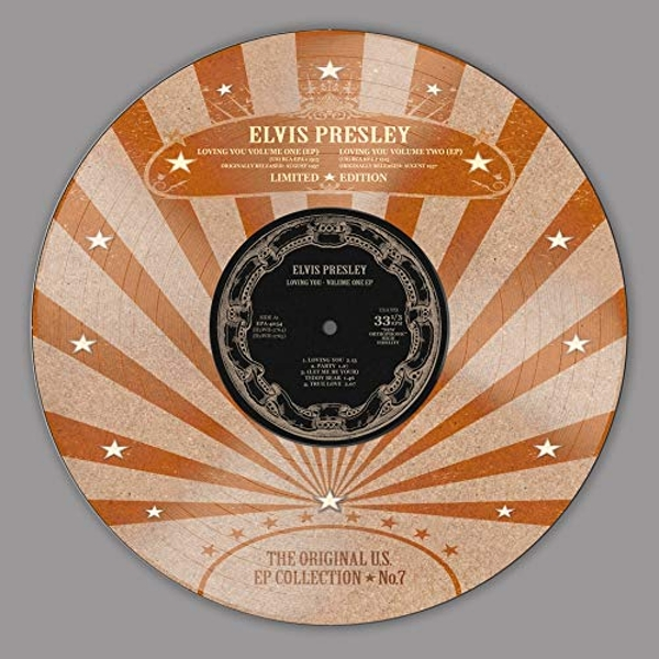 Elvis Presley - Loving You -  EP Collection 7 (Picture Disc) Vinyl