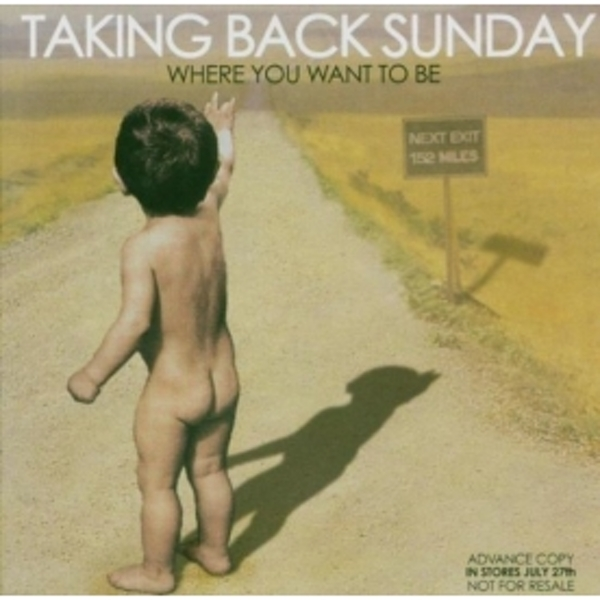 Taking Back Sunday - Where You Want To Be CD