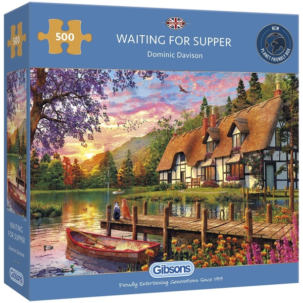Waiting for Supper Jigsaw Puzzle - 500 Pieces
