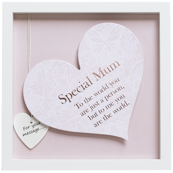 Said with Sentiment Square Heart Frames Special Mum