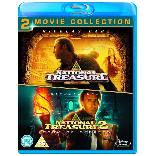 National Treasure/National Treasure 2 Blu-ray