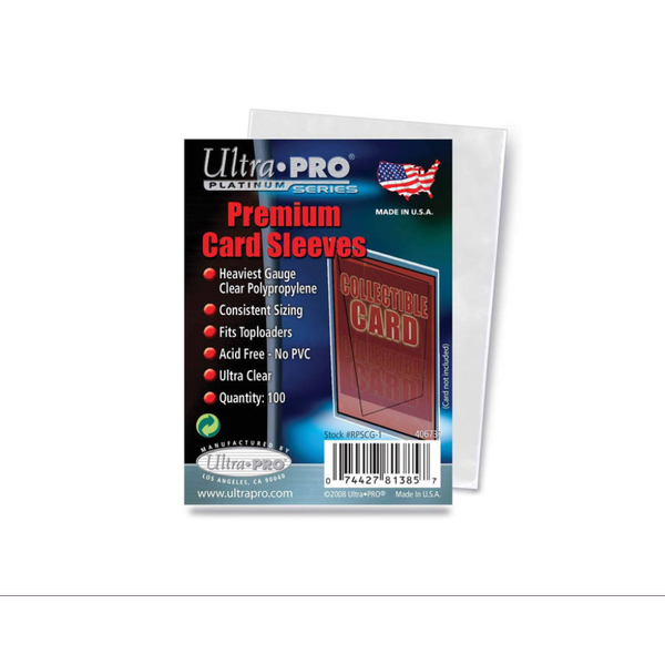 Ultra Pro Platinum Premium Card 100 Sleeves