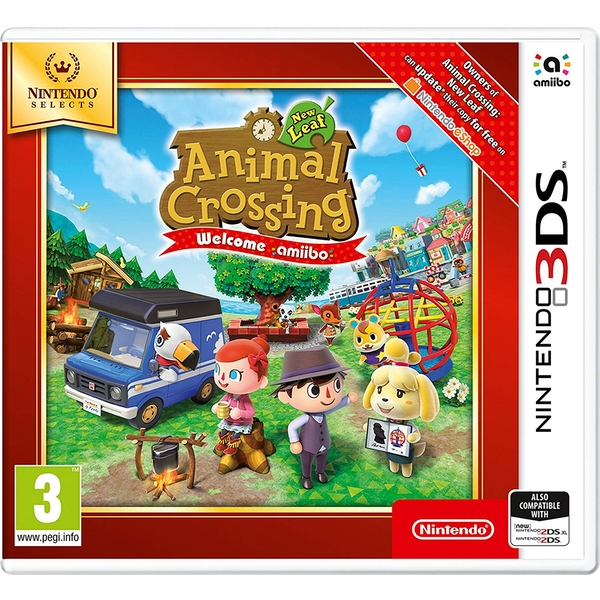 Animal Crossing New Leaf Welcome Amiibo 3DS Game (Selects) - Image 1
