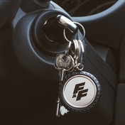 Thumbs Up! Fast & Furious - Wheel Keyring