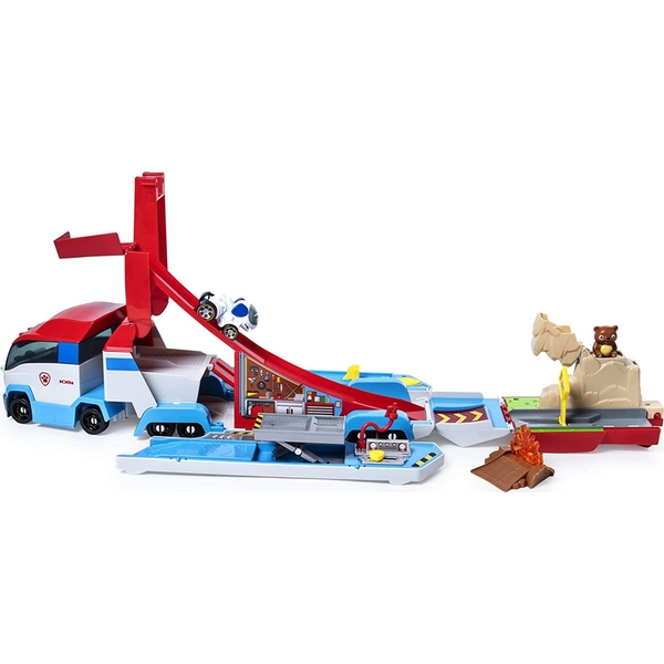 Paw Patrol - Launch Haul Paw Patroller (True Metal)