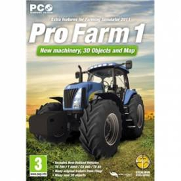 Pro Farm 1 Farming Simulator 2011 Expansion Pack Game PC