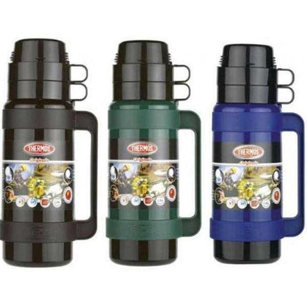 Thermos Mondial Flask 1L (Assorted Colour)