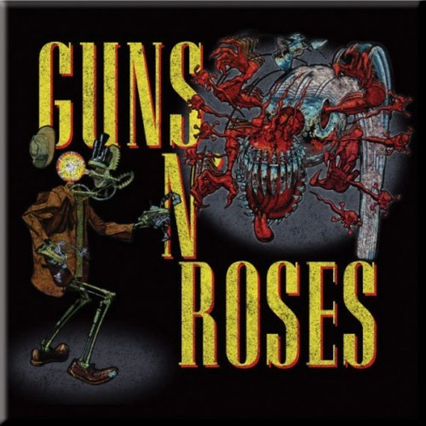 Guns N' Roses - Attack Fridge Magnet
