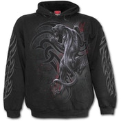 Triball Panther Men's XX-Large Hoodie - Black