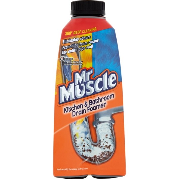 Mr Muscle Foamer Liquid 500ml Sink & Drain