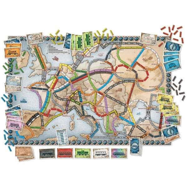 Ticket to Ride Europe - Image 4