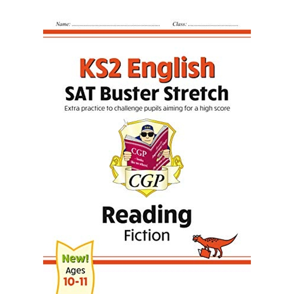 New KS2 English Reading SAT Buster Stretch: Fiction (for tests in 2018 and beyond) by CGP Books (Paperback, 2017)