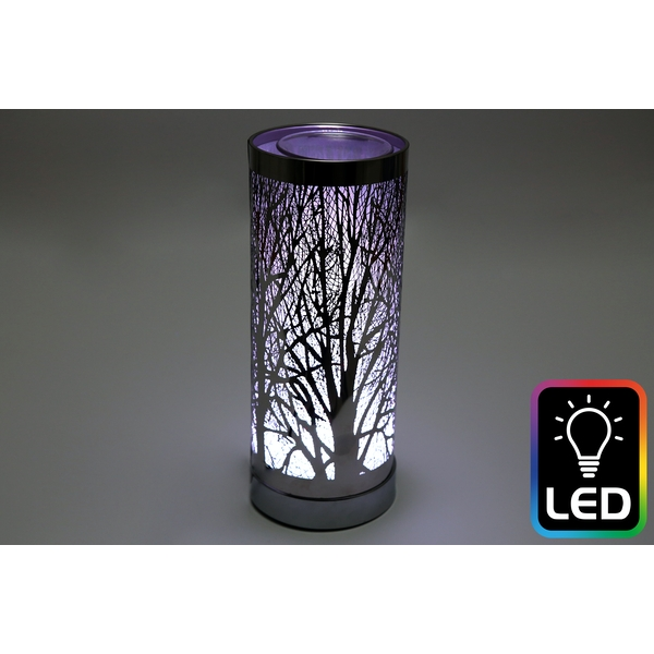 Woodland LED Black Oil Burner (UK Plug)