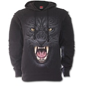 Triball Panther Premuim Biker Fashion Men's X-Large Hoodie - Black