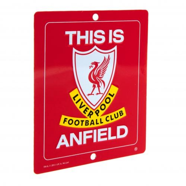 Liverpool FC Window Sign