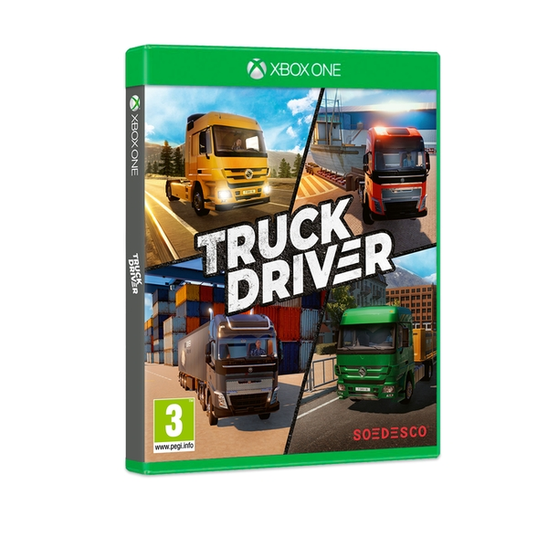 Truck Driver Xbox One Game - Image 1