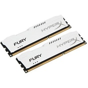 Kingston HyperX 16GB FURY White Heatsink (2 x 8GB) DDR3 1866MHz DIMM System Memory